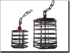 Baffle cage